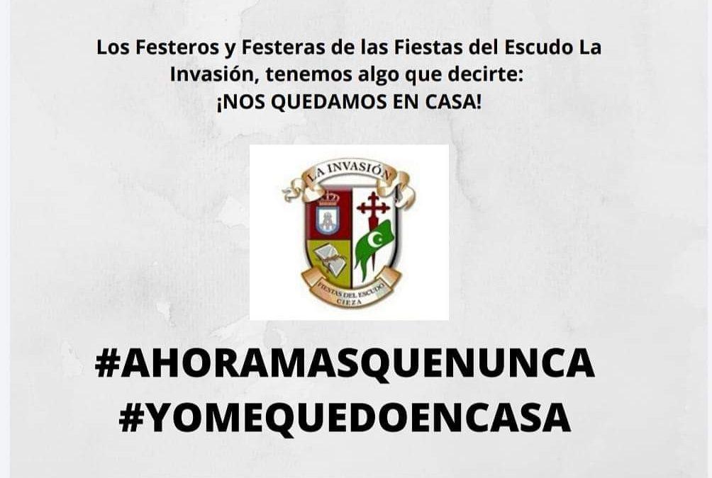 BOLETIN FIESTAS DEL ESCUDO LA INVASIÓN 2020 #YOMEQUEDOENCASA